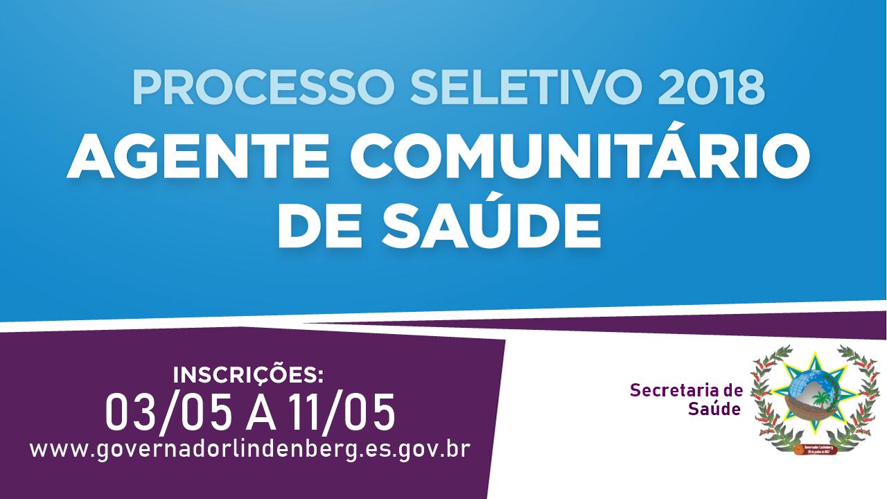 Secretaria Municipal de Saúde Divulga Edital para Processo Seletivo de Agente Comunitário