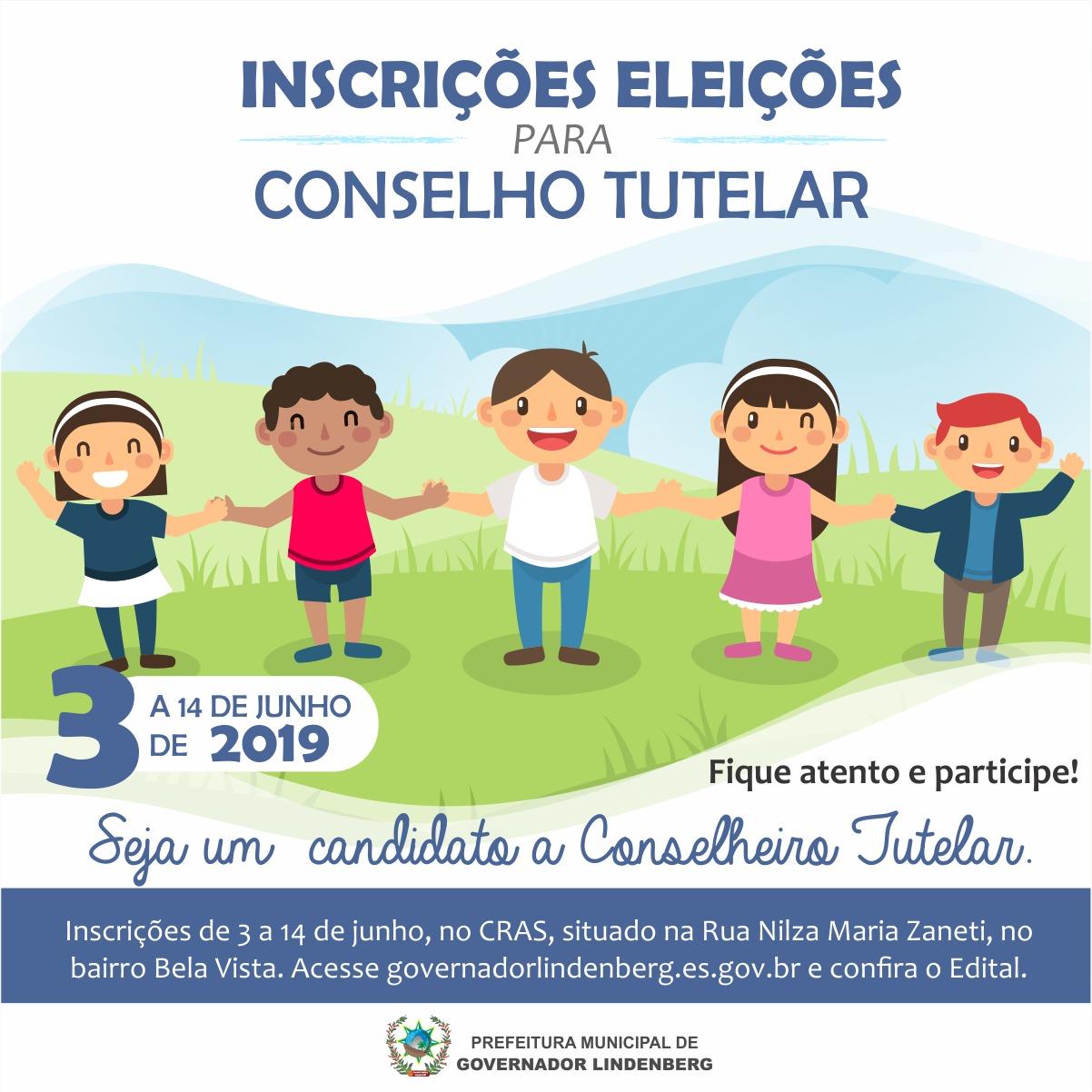 Edital de Convocação para Eleição de Conselheiros Tutelares.