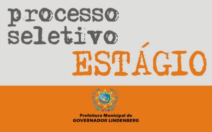 Abertura de Processo Seletivo destinado ao Desenvolvimento de Estágio Curricular não Obrigatório.